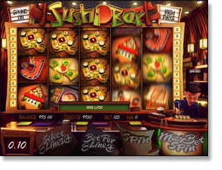 Sushi Bar Online Slot Game