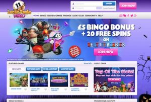 Lucky Pants Bingo online