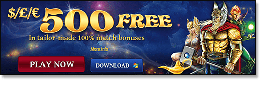 7Sultans Casino $500 Welcome Bonus