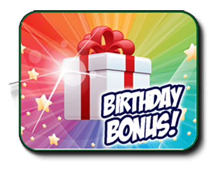 Bingo Australia - AUD Birthday Bonuses for Members