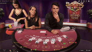 Two dealers for Evolution Gaming's Blackjack Party