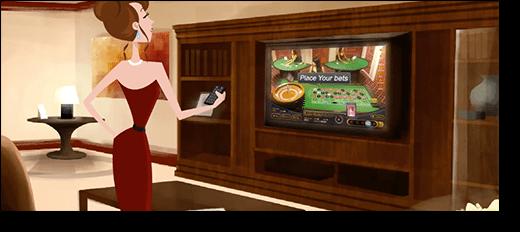 Ezugi Live Dealer Games on Smart-TV