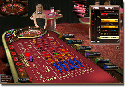 3D Live Dealer Roulette at Royal Vegas Casino