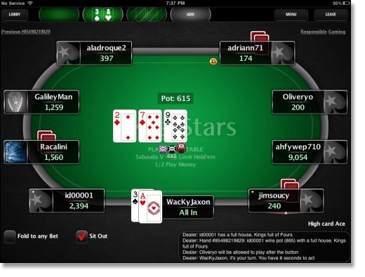 play pokerstars casino online