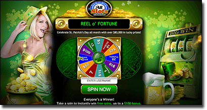 Play Reel 'o Fortune at All Slots Casino