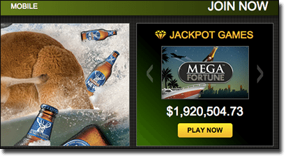 G'Day Casino jackpot pokies progressive pools