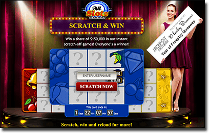 All Slots scratchie promotion