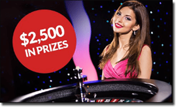 Win $2,500 worth of prizes at Guts Casino
