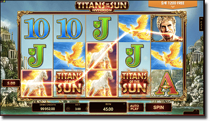 Titans of the Sun Hyperion pokies