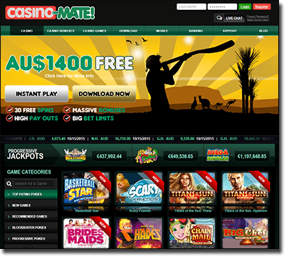 Casino-Mate - new Instant Play interface for real money gamblers