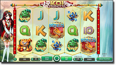 Play Koi Princess slot and win a trip to Japan