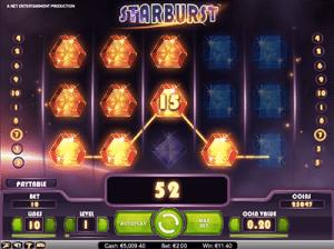 base game of netents starburst