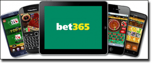 Bet365 casino on mobile and tablet