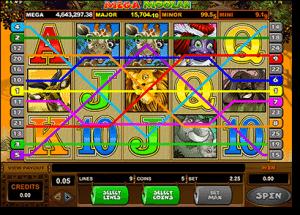 Mega Moolah online jackpot pokies