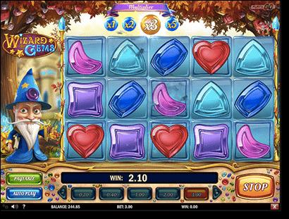 Wizard of Gems online pokies at Guts Casino