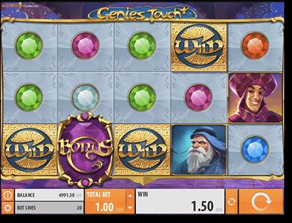 Genie's Touch online pokies