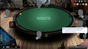 Play Omaha at Guts Poker