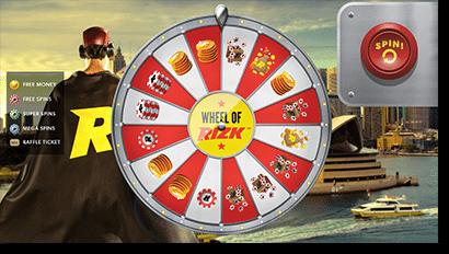 Rizk Casino promos and bonuses