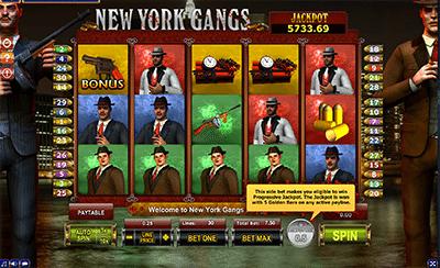 New York Gangs online pokies