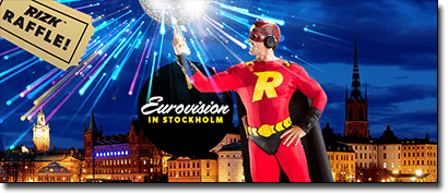 Win a trip to Eurovision 2016 with Rizk Casino
