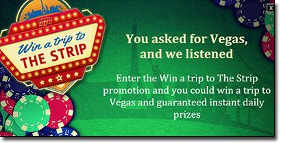 Royal Vegas Casino - Win a trip to Las Vegas on 2016