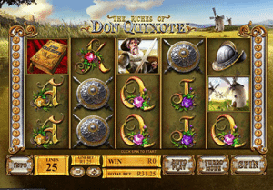 Play The Riches of Don Quixote pokies for real money