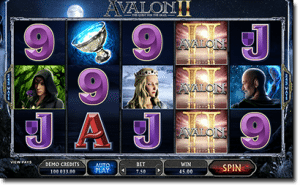 Avalon II online pokies by Microgaming