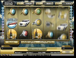 Mega Fortune online progressive jackpot pokies by NetEnt