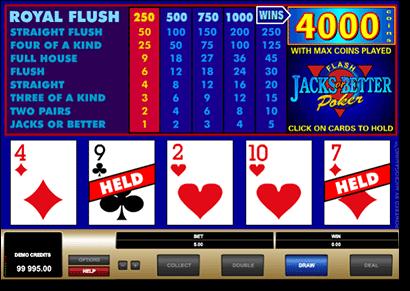 Video Poker online for real money