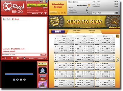 Play bingo online at 32Red.com