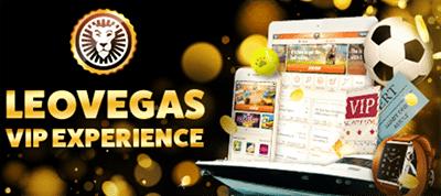 LeoVegas.com VIP experience
