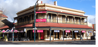 The Lion Hotel in North Adelaide, South Australia