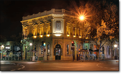 The Oxford Hotel in Adelaide, South Australia