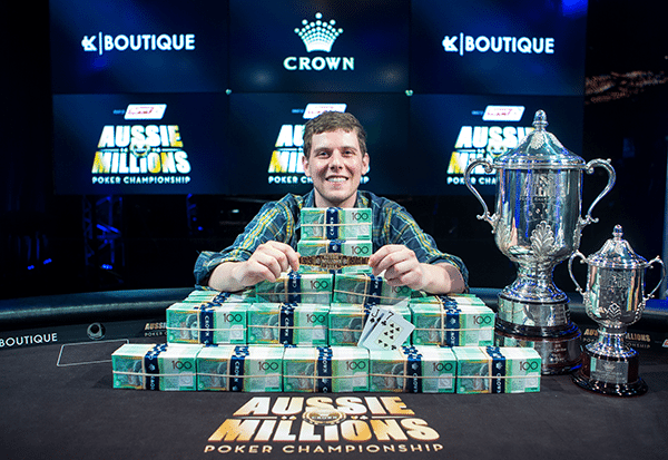 Earlier this year Ari Engel hit gold at the Aussie Millions Poker Championship, winning the Main Event