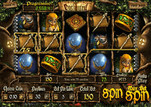 Enchanted slot game