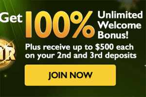 Unlimited new player bonus