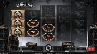 Motorhead pokie game