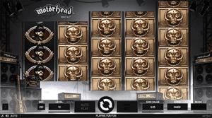 NetEnt's Motörhead Mystery Reels feature