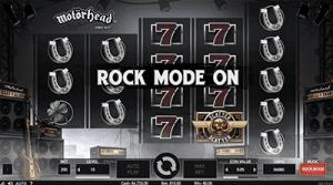 NetEnt's Motörhead rock mode enabled