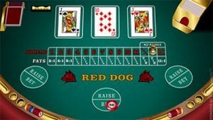 Play Red Dog by Microgaming online for real money
