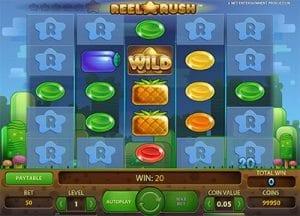 Reel Rush - Ways to Win pokies by NetEnt