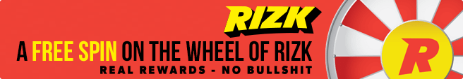 The Wheel of Rizk free spins