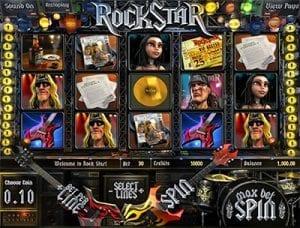Rockstar 3D online pokies by BetSoft