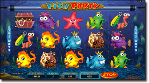 Fish Party online pokies by Microgaming