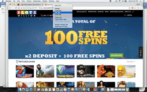 google chrome pin favourite casinos to tab