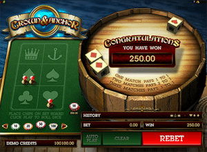 Crown and Anchor niche games by Microgaming