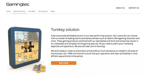 gamingtec turnkey solution