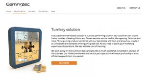 gamingtec turnkey solution