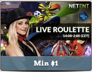 live roulette at leo vegas
