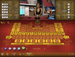 live dealer sic bo by microgaming